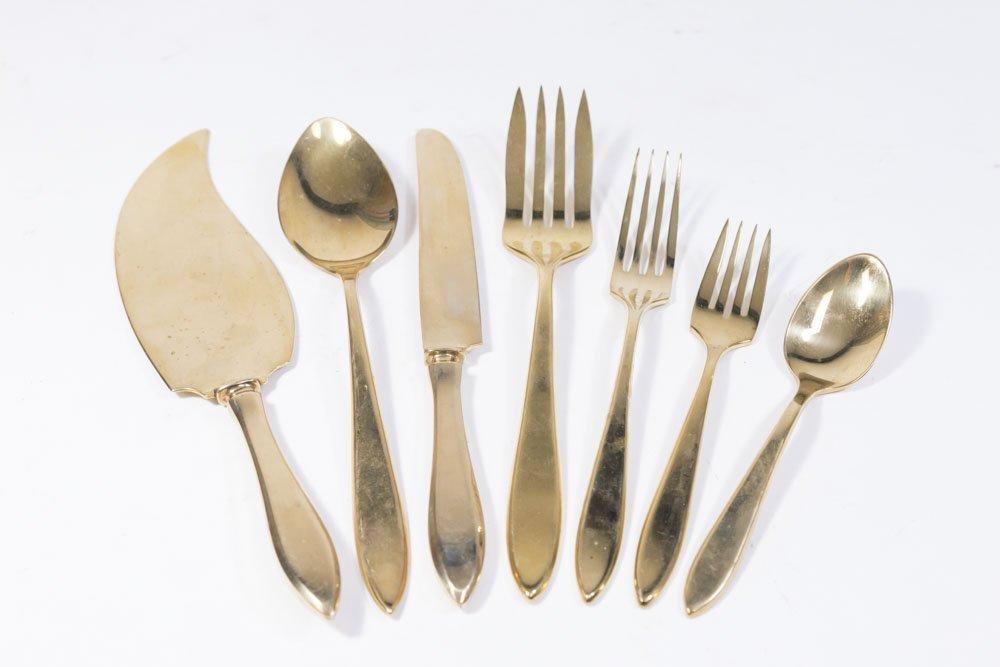Dirilyte Gold Silverware Set