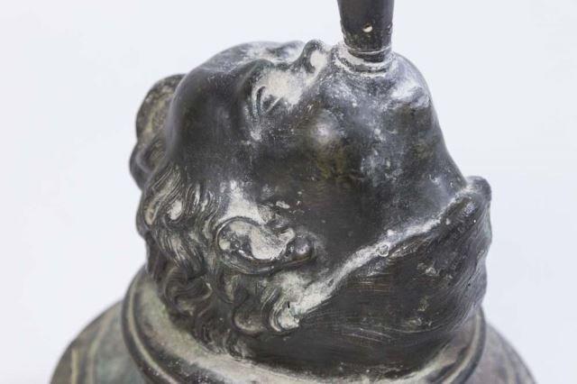 :White Metal Figure, Mercury on Marble Base - 3