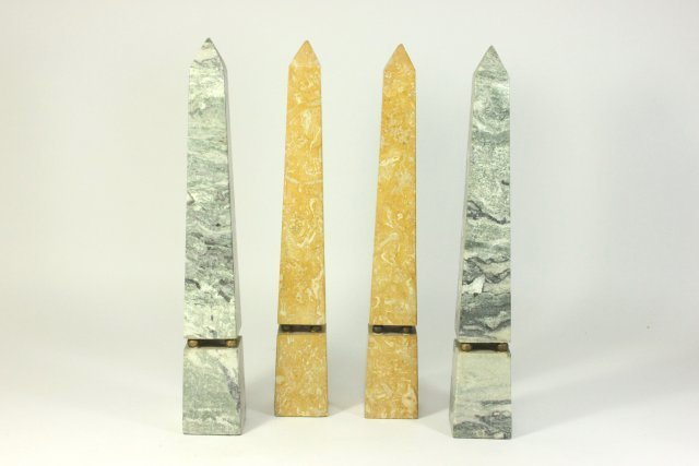 2 Pairs of Marble Columns