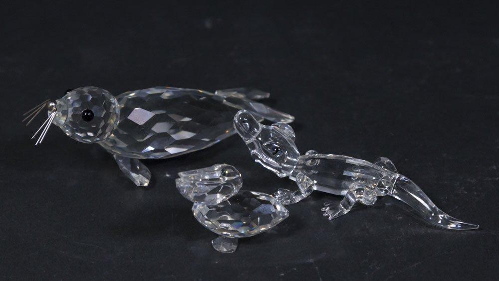 12 Swarovski Crystal Sculptures in Original Boxes - 5