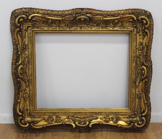Antique Gilt Baroque Style Frame