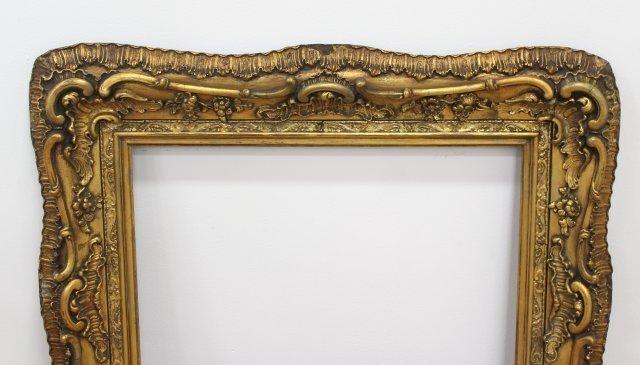 Antique Gilt Baroque Style Frame - 2