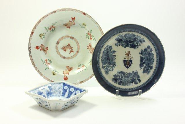 3 Antique Porcelain Pieces