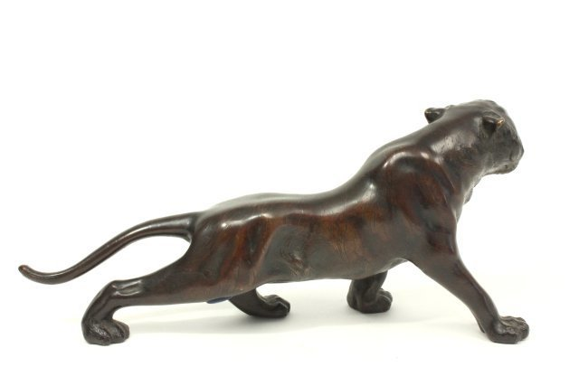 Japanese Bronze Tiger - 3