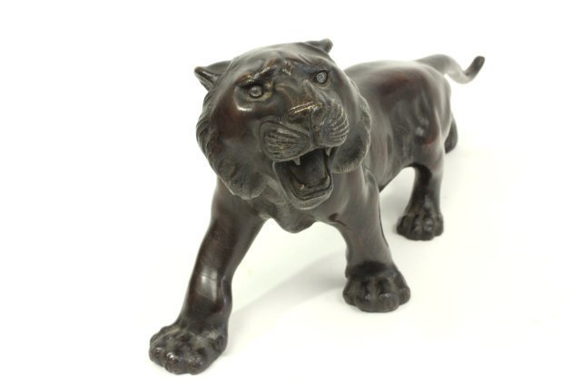 Japanese Bronze Tiger - 4