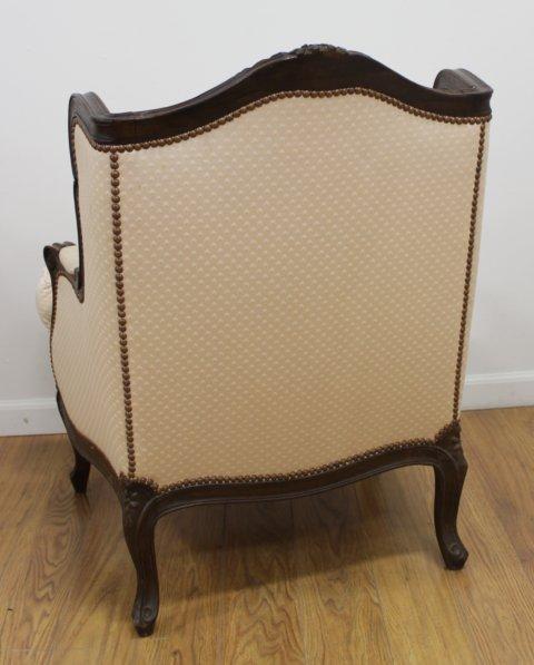 Pair Louis XV Style Beechwood Bergeres - 4