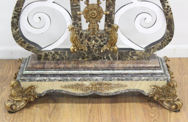 Contemporary Marble Veneered Firescreen - 3