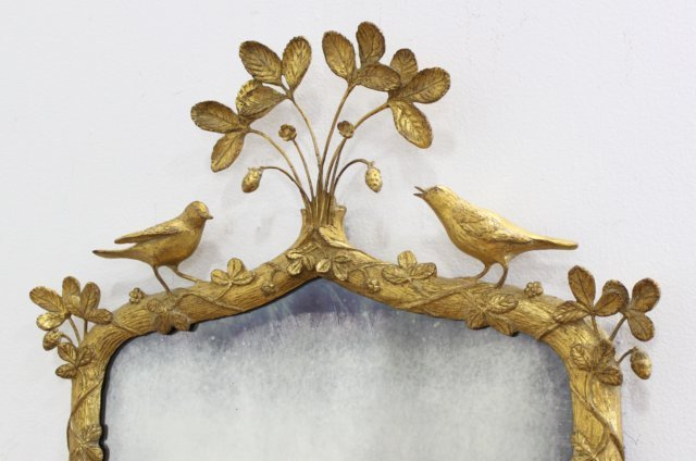 Carved Giltwood & Composition Mirror - 2