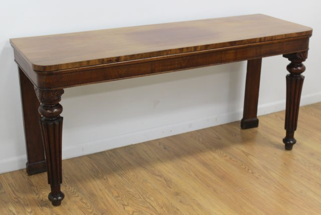 Late 19th-Early 20th C.Mahogany Serving Table
