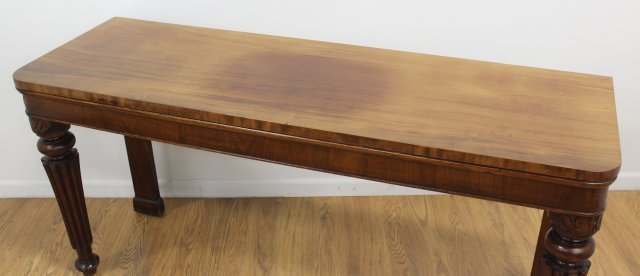 Late 19th-Early 20th C.Mahogany Serving Table - 2
