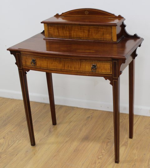 Late 19th C. Georgian Style American Lady's Desk