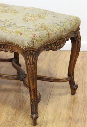 :Louis XV Style 6 Legged Bench - 2