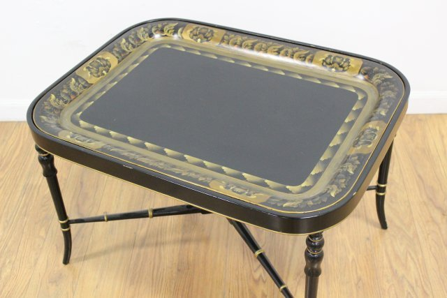 :19th Century English Tray Top Coffee Table - 2