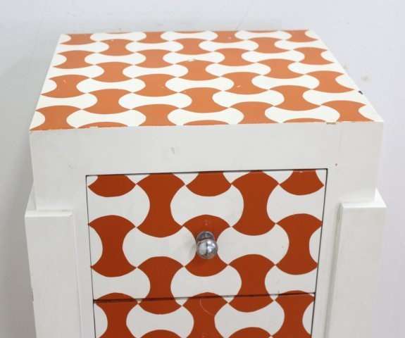 :Swedish Style 5-Drawer Painted Lingerie Chest - 3
