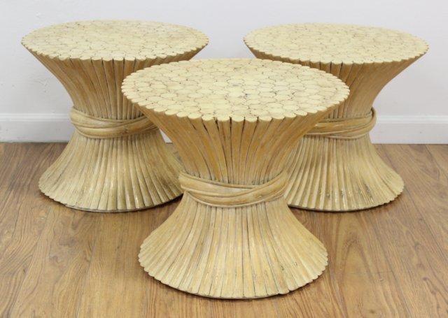 3 Wheat Sheaf Table Bases
