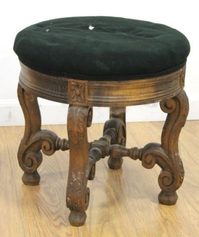 :Pair Louis XIV Style Beechwood Tabourets - 3