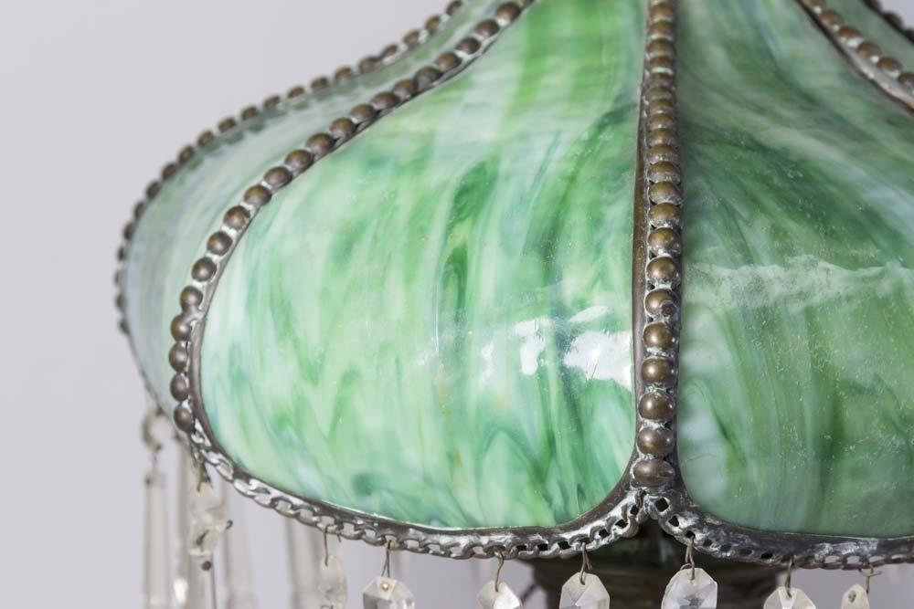 2 Victorian Metal Lamps - 2