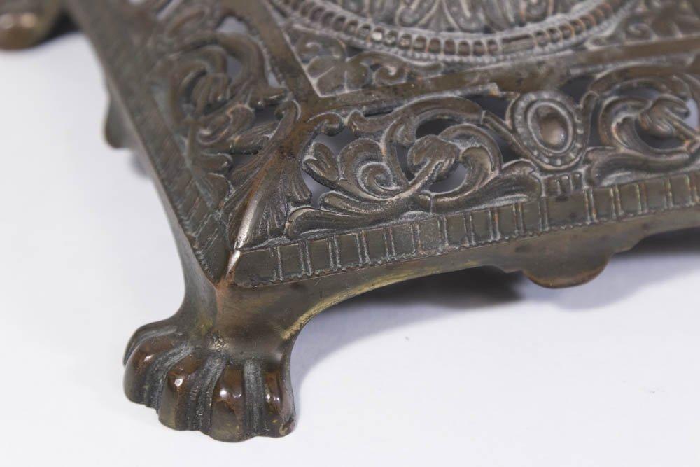 2 Victorian Metal Lamps - 4