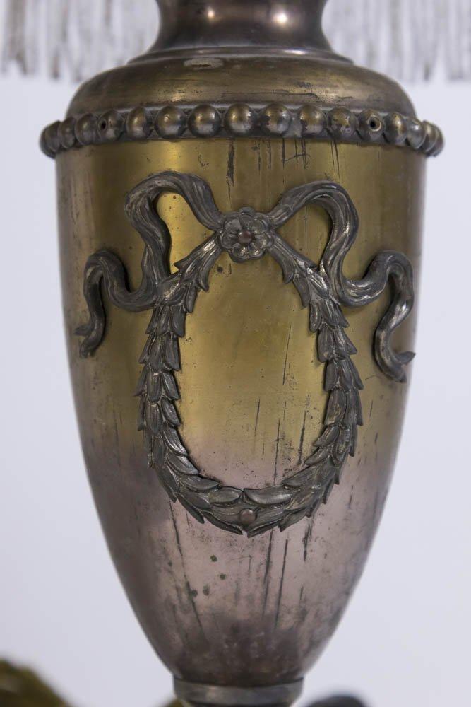 2 Victorian Metal Lamps - 5