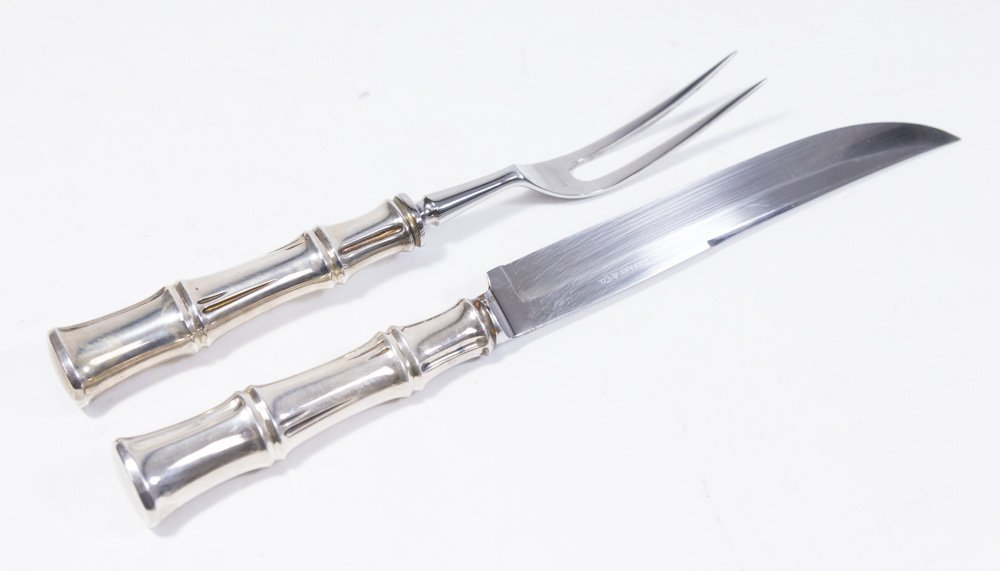 Tiffany & Co. Sterling Silver Carving Set