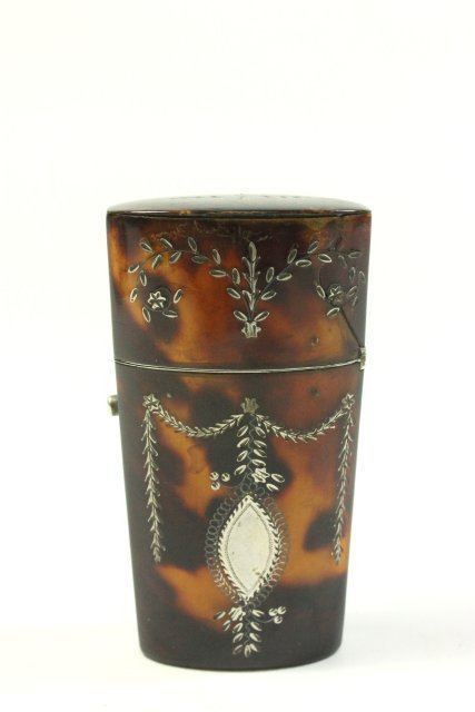 Continental Silver Mounted Etui