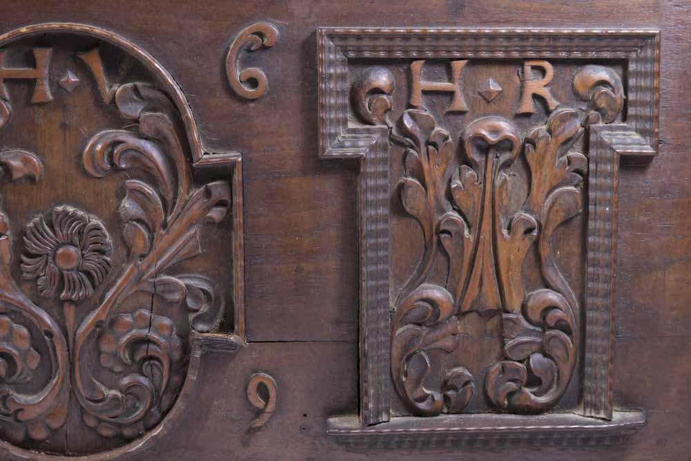 Baroque Walnut Document Box - 2