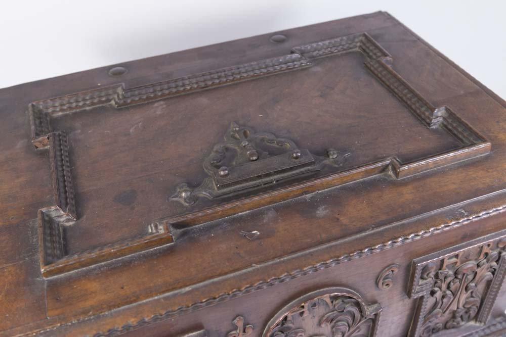 Baroque Walnut Document Box - 3