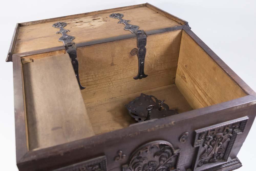 Baroque Walnut Document Box - 5