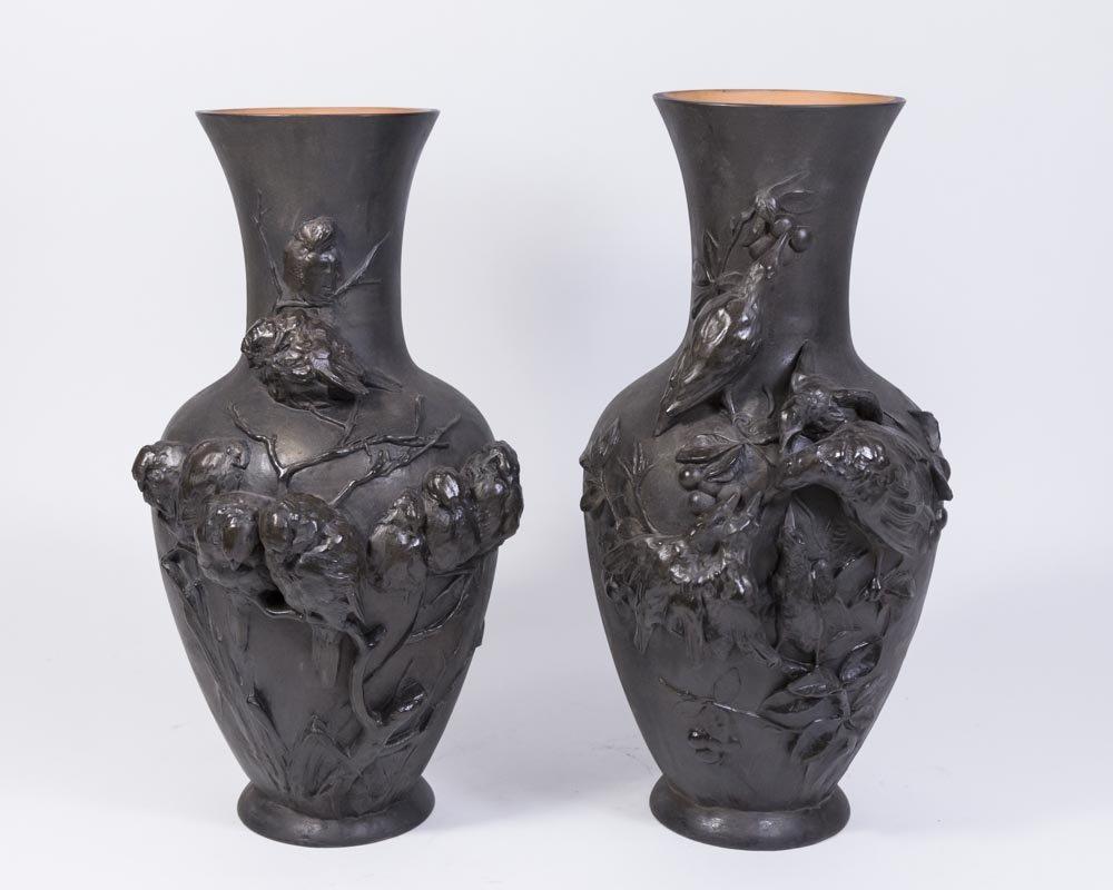 Pair Peter Ipsen Vases