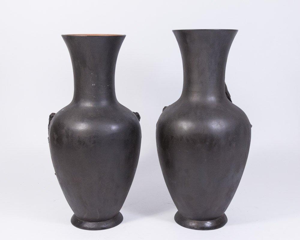Pair Peter Ipsen Vases - 4
