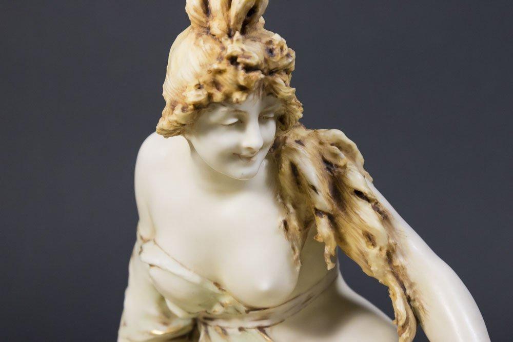 Teplitz Art Nouveau Mermaid Figure - 2