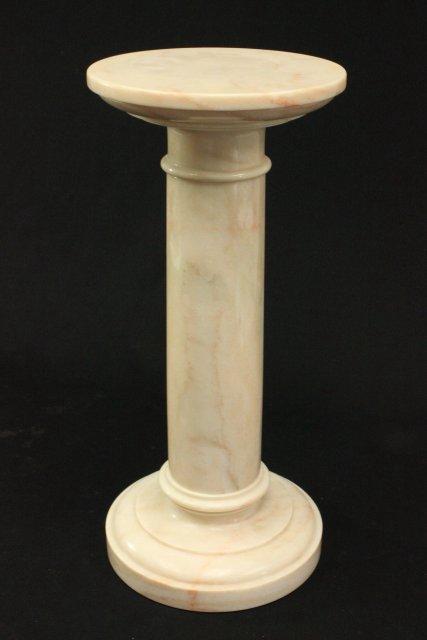 Marble Bust of Venus on Marble Pedestal - 5