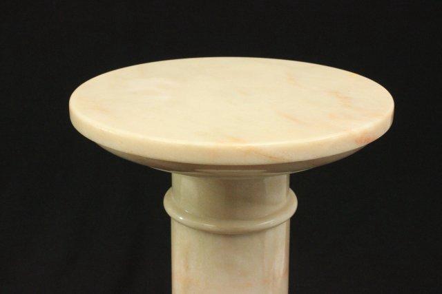 Marble Bust of Venus on Marble Pedestal - 6