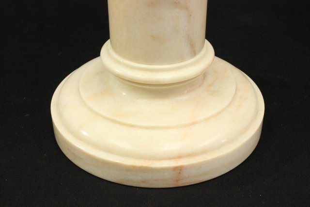 Marble Bust of Venus on Marble Pedestal - 7