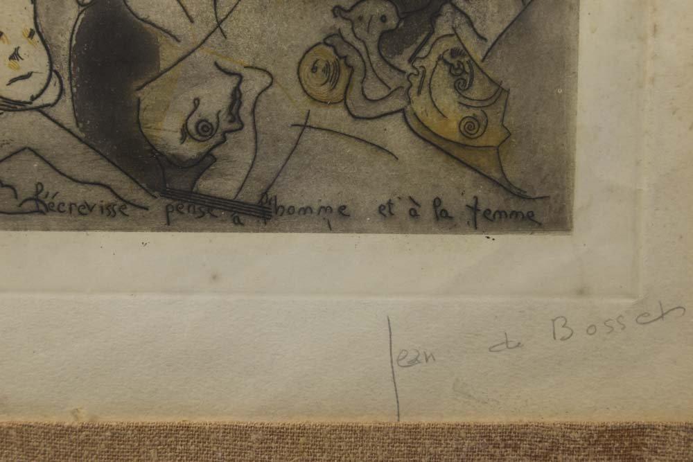 """Jean De Bosschère, """"L'Ecrevisse Pense..."""" - 6"""