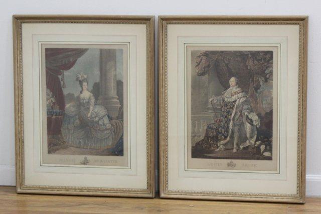 Louis XVI & Marie Antoinette
