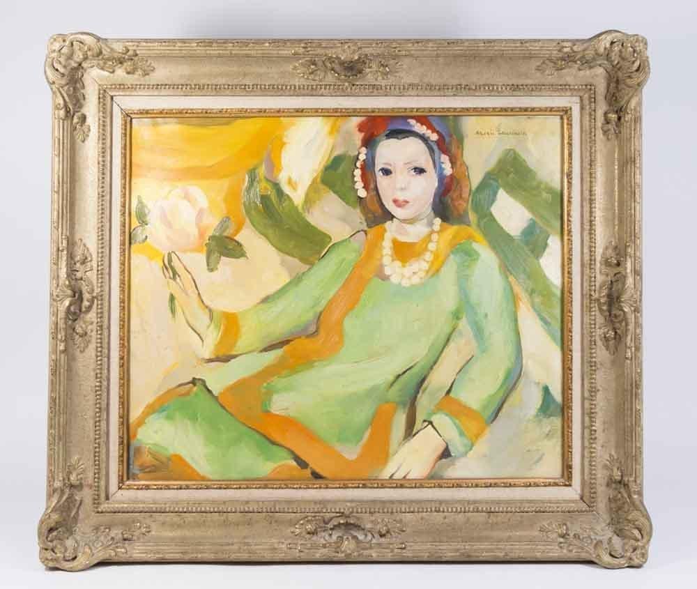 "Marie Laurencin, ""Femme Aux Perles"""