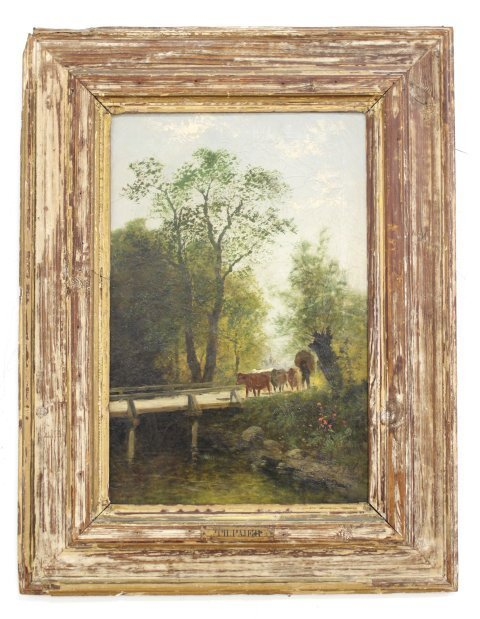 Theodore Paier, Pair Rural Landscapes - 2