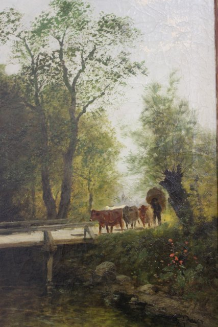 Theodore Paier, Pair Rural Landscapes - 3