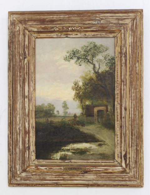 Theodore Paier, Pair Rural Landscapes - 6