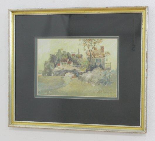 Robert Laessig, Village by Brook