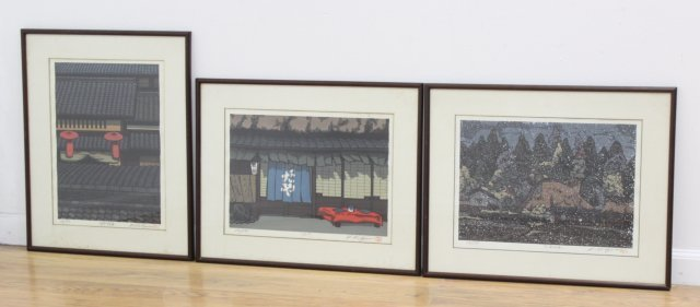 3 Japanese Prints