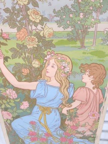 :39 Zubair Style Art Nouveau Wall Paper Panels - 2