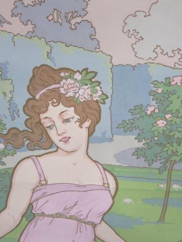 :39 Zubair Style Art Nouveau Wall Paper Panels - 4