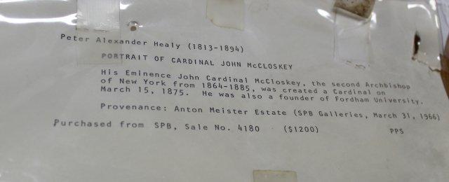 George Peter Alexander Healy, Portrait of Cardinal - 5
