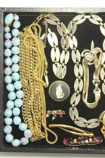 Tray Lot Vintage Costume Jewelry - 2