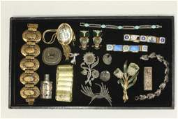 Tray Lot Costume Jewelry