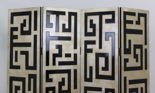 Modern Grecian Key Design Screen - 2