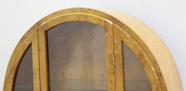 Mid-Century Danish Style Art Nouveau China Cabinet - 3