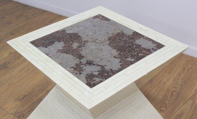 :Enrique Garcel Tessellated Bone Coffee Table - 2